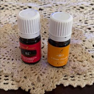 YL Essential Oils in RC and Citrus Fresh